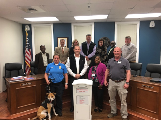 Headland PD Drug Take Back Program